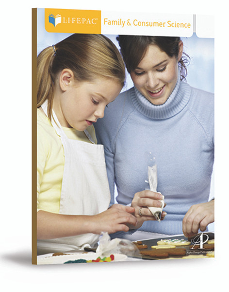 LIFEPAC Family and Consumer Science Set of 10 Student Books