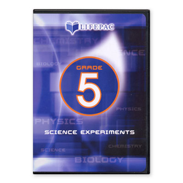 LIFEPAC Science 5 Experiments DVD Video 5th Grade