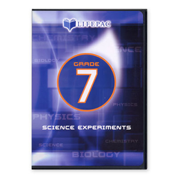 LIFEPAC General Science 1 Experiments DVD Video 7th Grade