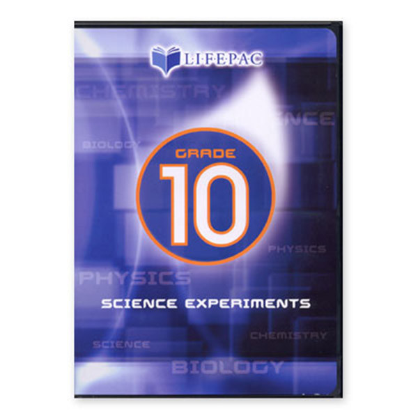 LIFEPAC Biology Lab Experiments DVD Video