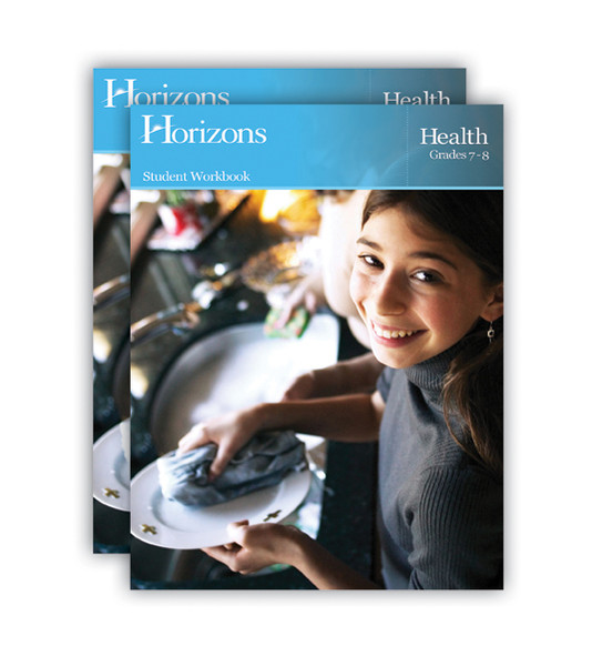 Horizons Health Homeschool Curriculum Set 7th-8th Grade