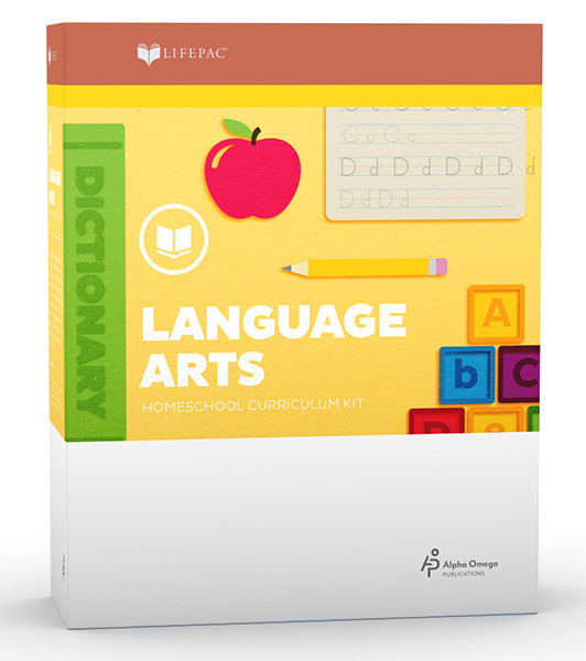 LIFEPAC Language Arts Homeschool Curriculum Set 2nd Grade