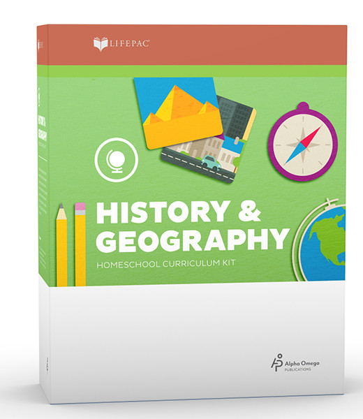 LIFEPAC History & Geography Complete Homeschool Curriculum Set 2nd Grade