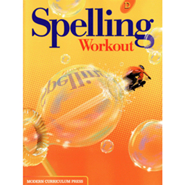 MCP Spelling Workout 2002 Student Book D