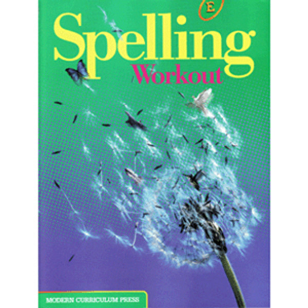 MCP Spelling Workout 2002 Student Book E