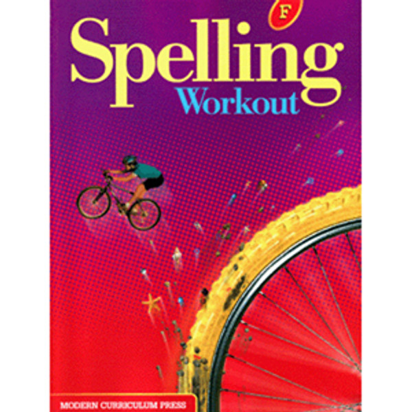 MCP Spelling Workout 2002 Student Book F