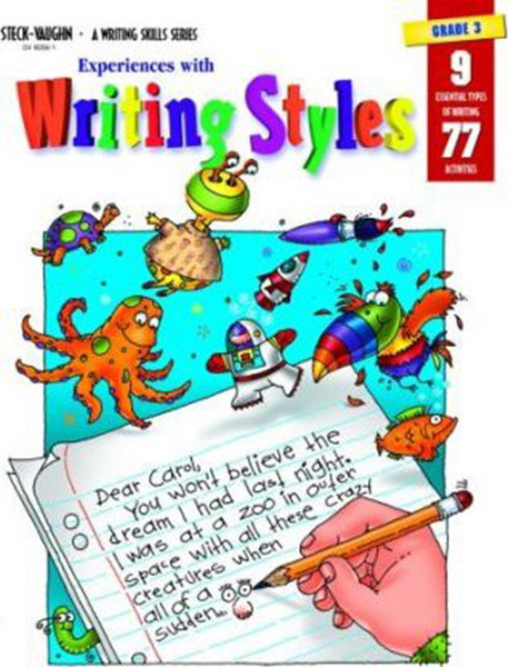 Experiences with Writing Styles Reproducible Grade 3