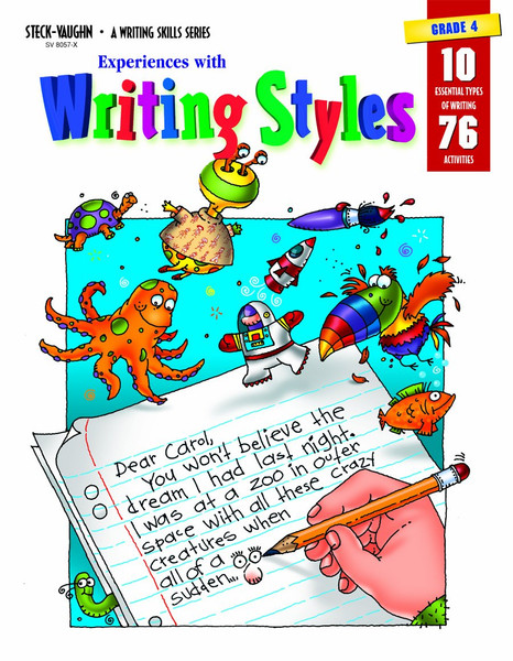 Experiences with Writing Styles Reproducible Grade 4