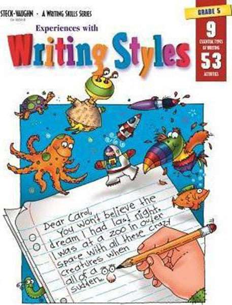 Experiences with Writing Styles Reproducible Grade 5