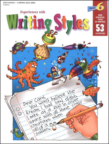 Experiences with Writing Styles Reproducible Grade 6