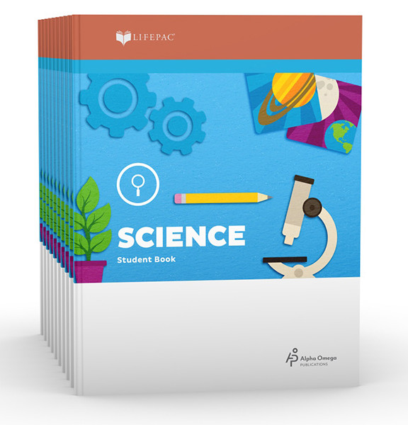 LIFEPAC Science Set of 10 Student Books 2nd Grade