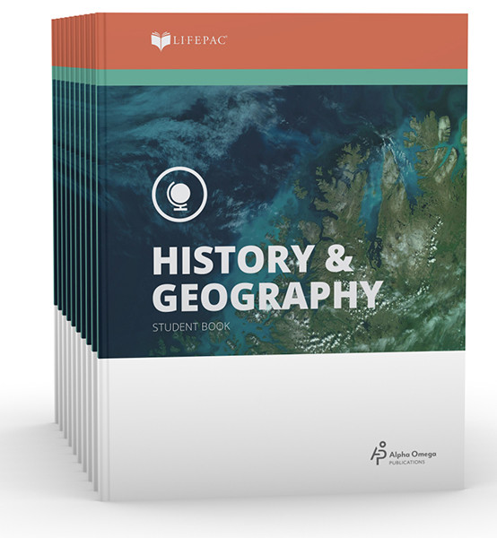 LIFEPAC History & Geography Student Books 6th Grade