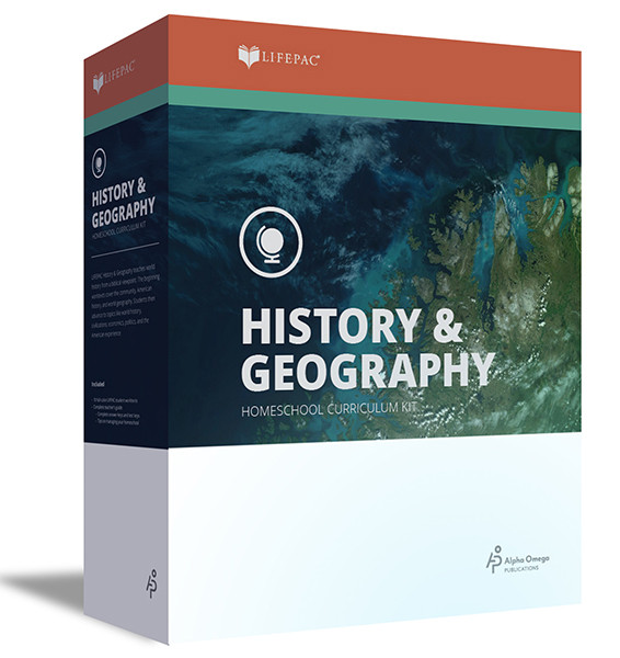 LIFEPAC World History Homeschool Curriculum Set 10th Grade