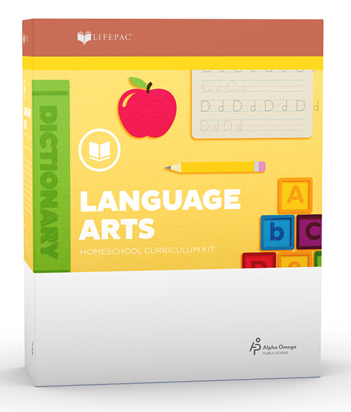 LIFEPAC Language Arts Homeschool Curriculum Set First Grade