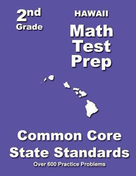 Hawaii 2nd Grade Math Test Prep: Common Core State Standards