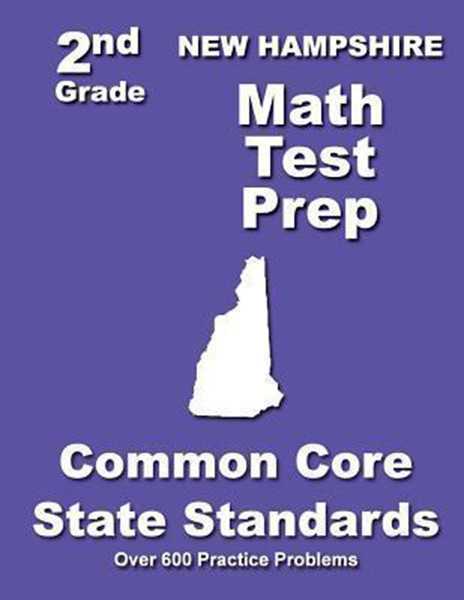 New Hampshire 2nd Grade Math Test Prep: Common Core State Standards