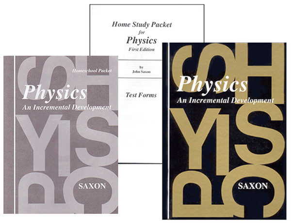 Saxon Physics Homeschool Curriculum Kit 1st Edition