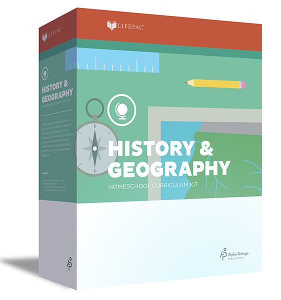 LIFEPAC History & Geography Homeschool Curriculum Set 5th Grade