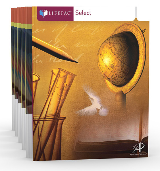 LIFEPAC Composition Select Complete Homeschool Curriculum Set 9th-12th Grades