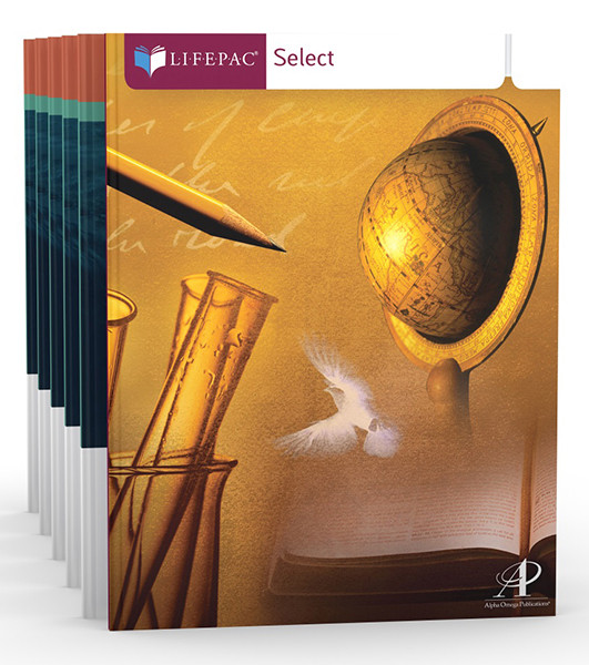 LIFEPAC Select Geography Complete Homeschool Curriculum Set 9th-12th Grades