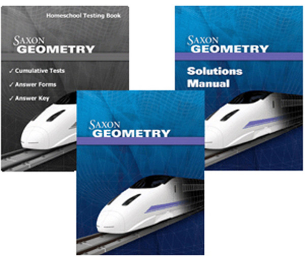 Saxon Geometry Homeschool Kit with Solutions Manual