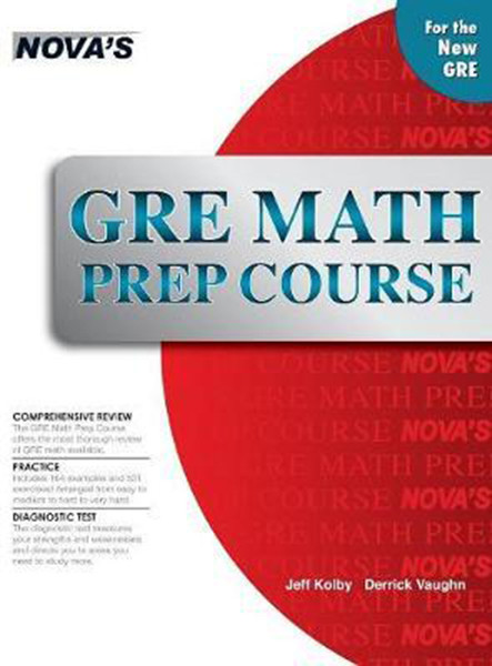 GRE Math Prep Course, Hardcover