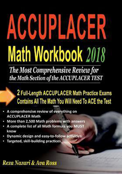 ACCUPLACER Math Workbook 2018: Comprehensive Activities for Mastering Essential Math Skills
