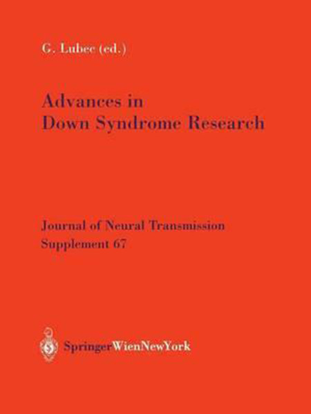 Advances in Down Syndrome Research (Softcover Reprint of the Original 1st 2003)