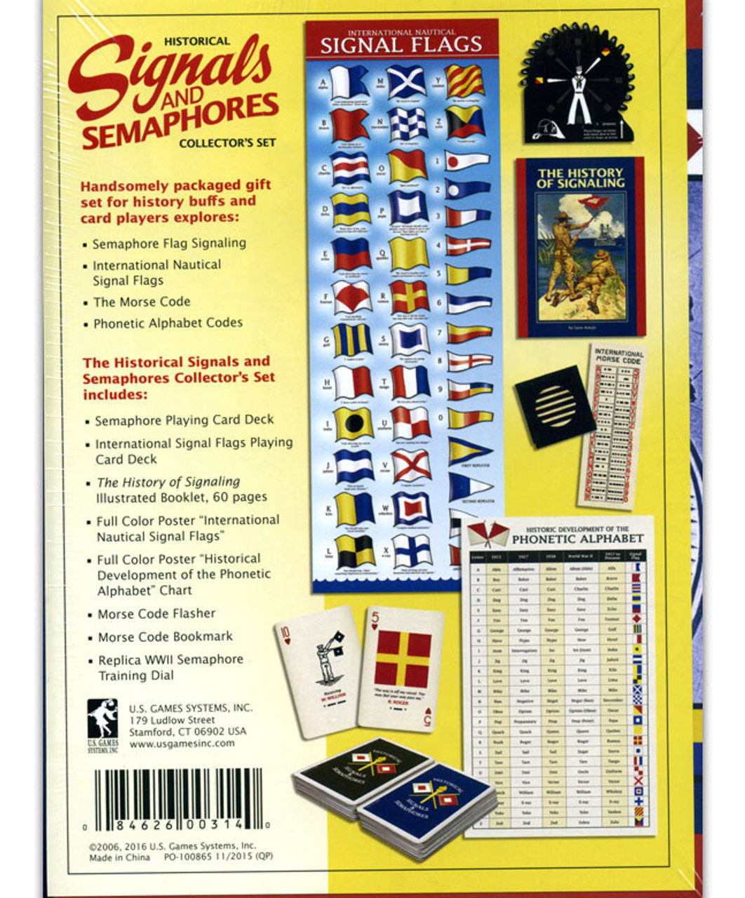 Historical Signals And Semaphores Playing Cards The National Wwii Museum