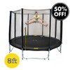 8ft Spring Trampoline with Net
