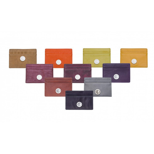 Poised Slim Card Holder Mixed