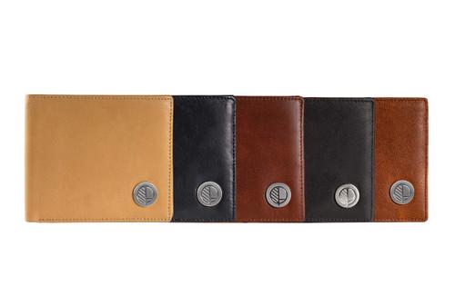 mens-leather-wallet-bifold-slim-coin-pocket-range-of-colours