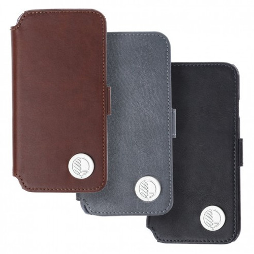 "The ""Answer"" - our Class Leading Premium British Real Leather iPhone 7 Wallet Case"