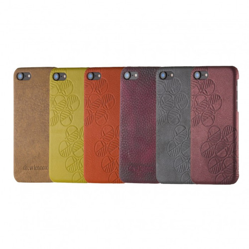 """The """"Assured"""" Luxury Embossed Slim Profile Genuine British Leather iPhone 6 6S Back Cover Cases"""