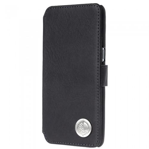 Class Leading Premium British Real Leather Samsung Galaxy S8 Wallet Case in Verglas Black
