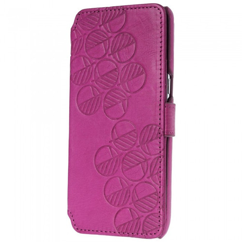 Class Leading Premium British Real Leather Samsung Galaxy S8 Wallet Case in Fuchsia Pink