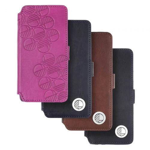 """The """"Answer"""" - our Class Leading Premium British Real Leather Samsung Galaxy S8 Wallet Case"""
