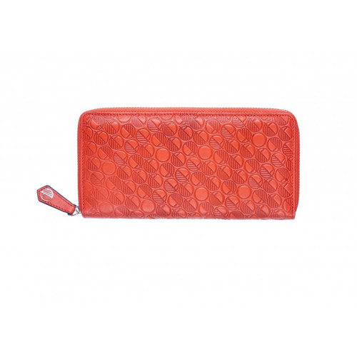 "Limited Edition ""Coral"" Orange Leather Purse and Womens Wallet - Amazingly Soft Genuine British Leather"