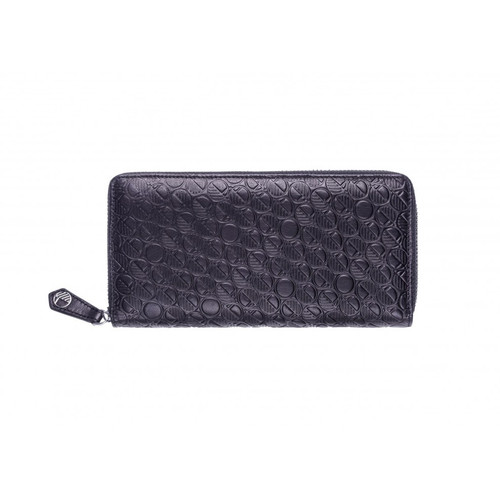 """Go"" Purses and Wallets for Women in Soft Verglas Black Genuine British Leather"