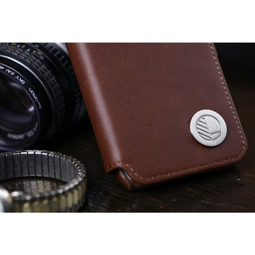 Class Leading Premium British Real Leather iPhone 6 6S Wallet Case in Rich Brown
