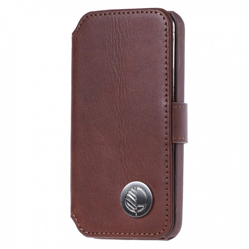 Class Leading Premium British Real Leather iPhone 8 Wallet Case in Rich Brown