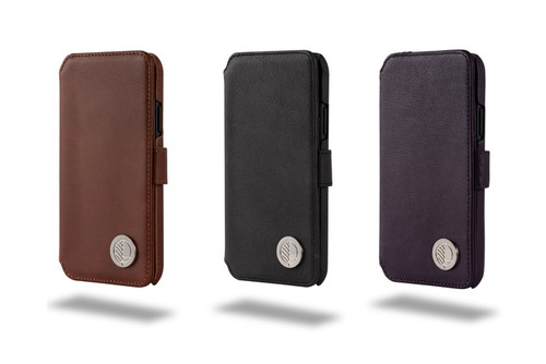 "Copy of The ""Answer"" - our Class Leading Premium British Real Leather iPhone X XS Wallet Case"