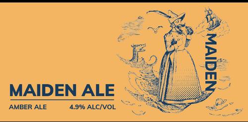 Brewboy's Maiden Ale Banner Logo
