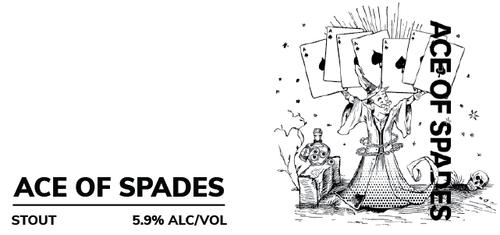 Brewboy's Ace of Spades Banner Logo