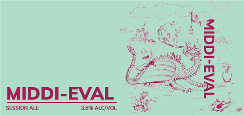 Brewboy's Middi-Eval Banner Logo