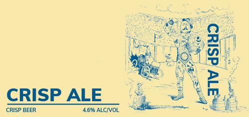 Brewboy's Crisp Ale Banner Logo