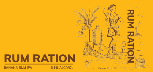 Brewboy's Rum Ration Banner Logo