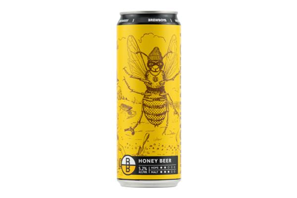 Still shot of a can of Brewboy's Pollen Pincher