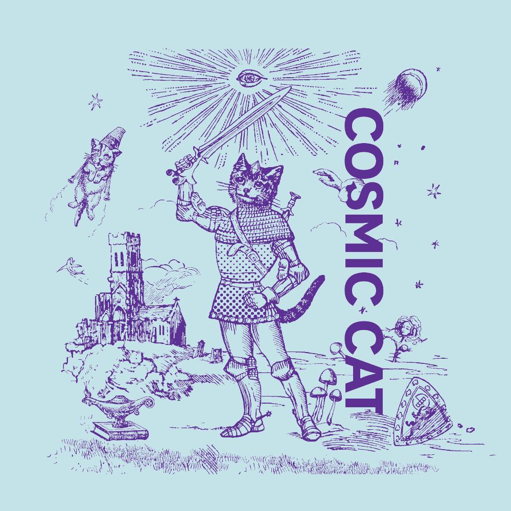 Cosmic Cat Illustration