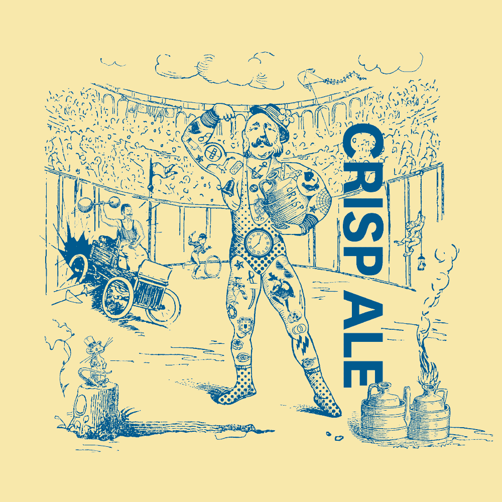 Crisp Ale Illustration